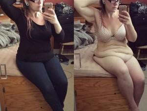 YOUTUBE Amanda Roberts perde metà del suo peso ma ora...
