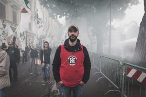Andrea Bonazza, capo ultrà di Casapound boom voti a Bolzano
