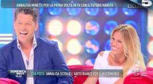 Annalisa Minetti si sposa: nozze con Michele a...