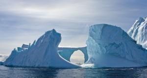 Guarda la versione ingrandita di Le acque che circondano l'Antartide sono ritenute tra gli ultimi luoghi della terra a non subire gli effetti dal riscaldamento globale.