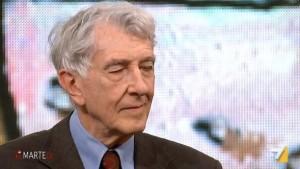 Corrado Augias, scuse per frasi su Fortuna Loffredo VIDEO