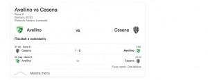 Avellino-Cesena, streaming-diretta tv: dove vedere Serie B