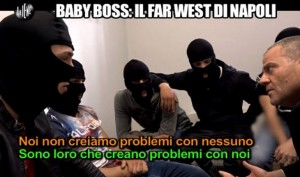 """Le Iene: """"Baby boss, il Far West di Napoli"""" di Giulio Golia"""