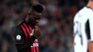 Milan-Juve, mistero Balotelli: va via e poi ritorna ma...