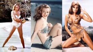 Bikini: 70 anni di seduzione atomica da Marylin a Naomi FOTO
