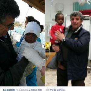 Mamma muore in mare: bimba 9 mesi sbarca sola a Lampedusa