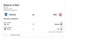 Brescia-Bari, streaming-diretta tv: dove vedere Serie b
