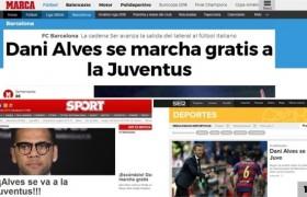 Calciomercato Juventus, Dani Alves bianconero per tre anni