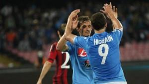 Guarda la versione ingrandita di Calciomercato Napoli, Gonzalo Higuain: Psg in pressing