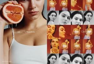 Kendal Jenner, spot bollente per Calvin Klein