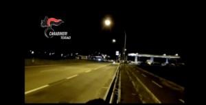 Torino, gare clandestine in auto sulla provinciale: VIDEO