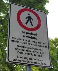 Gorle, vietato correre e fare jogging: runner protestano...
