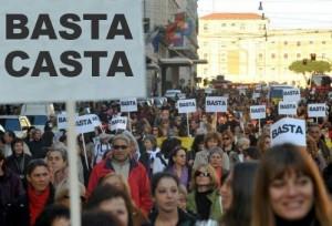 Quando i cittadini protestano contro la casta politica