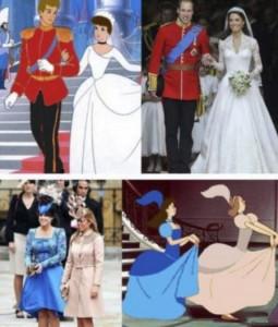 "Guarda la versione ingrandita di Kate Middleton Cenerentola, le cugine ""sorellastre"" FOTO"