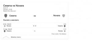 Cesena-Novara, streaming-diretta tv: dove vedere Serie b