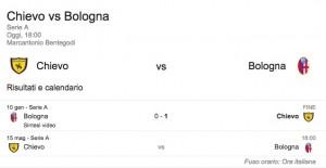 Chievo-Bologna, streaming-diretta tv: dove vedere Serie A_1