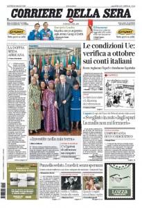 Guarda la versione ingrandita di Ue, banche: le prime pagine dei giornali