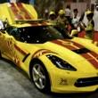 Corvette da 340 km/H carro dei pompieri a Dubai2