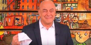 Maurizio Crozza piange per Fassina. E a Di Battista...VIDEO