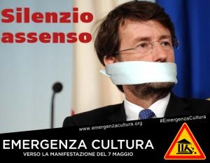 """""""Emergenza cultura"""": la manifestazione il 7 maggio a Roma"""