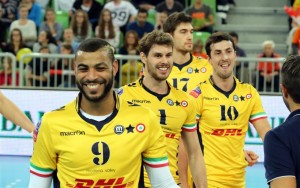 Pallavolo, Dhl Modena scudetto: 3-2 a Perugia