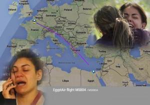 Guarda la versione ingrandita di YOUTUBE Egypt Air precipitato: striscia fuoco in cielo VIDEO