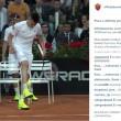 El Sharawy palleggia con una pallina da tennis2