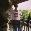 Elena Santarelli in forma dopo parto: scollatura su Instagram