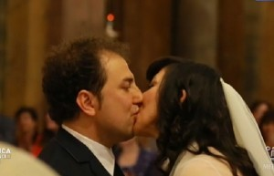 Domenica Live, Emanuela Aureli si sposa in diretta VIDEO