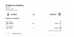 Entella-Avellino, streaming-diretta tv: dove vedere Serie b