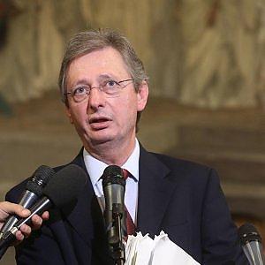 Il relatore dell'emendamento sulla prescrizione Felice Casson (foto Ansa)