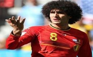 Guarda la versione ingrandita di Marouane Fellaini (foto Ansa)