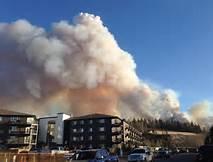 L' incendio a Fort McMurray