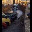 Firenze, voragine su Lungarno: 20 auto inghiottite FOTO7