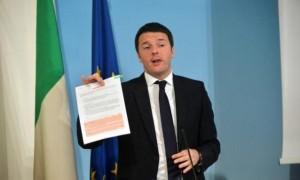 Fisco Renzi: piano Irpef a 2 fasce, Pmi tassazione per cassa