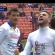 Dionisi video gol Milan-Frosinone con dedica a Morosini