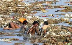 L' inquinamento del Gange