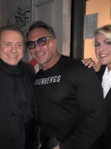 Guarda la versione ingrandita di Berlusconi e Francesca Pascale: indagato il personal trainer