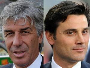 Guarda la versione ingrandita di Calcio, Genova paradosso: Gasperini via, Montella invece...