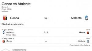 Genoa-Atalanta, streaming-diretta tv: dove vedere Serie A_1