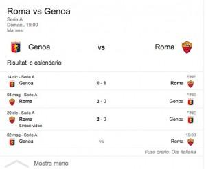 Genoa-Roma, streaming-diretta tv: dove vedere Serie A