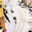 Grandinata a Genova, strade imbiancate dopo temporale FOTO4
