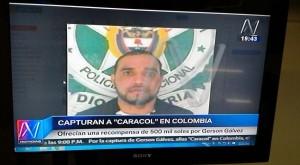 Gerson Galvez, boss narcos peruviano preso in Colombia
