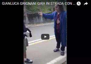 Gianluca Grignani e il nuovo video choc