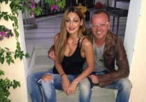 Gigi D'Alessio e Anna Tatangelo (foto Facebook)