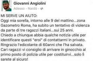 """Giovanni Angiolini, ex Grande Fratello: """"Mia sorella..."""""""
