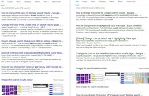Google vuole cambiare colore ai link: da blu a nero