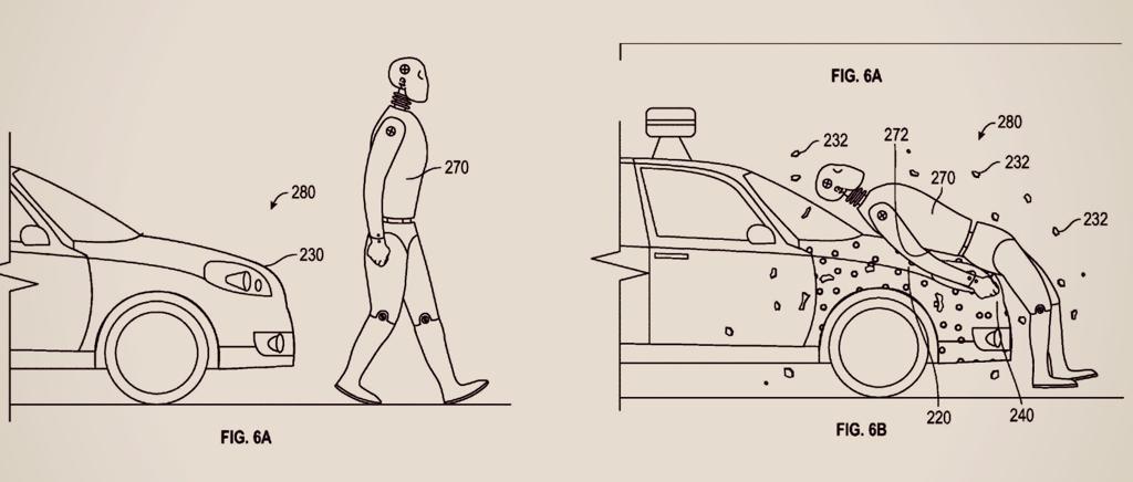 "Google brevetta la ""carta moschicida"" salva-pedoni"