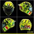 MotoGp Mugello, Valentino Rossi e la dedica sul casco...FOTO