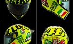 MotoGp Mugello, Valentino Rossi e la dedica sul casco…FOTO